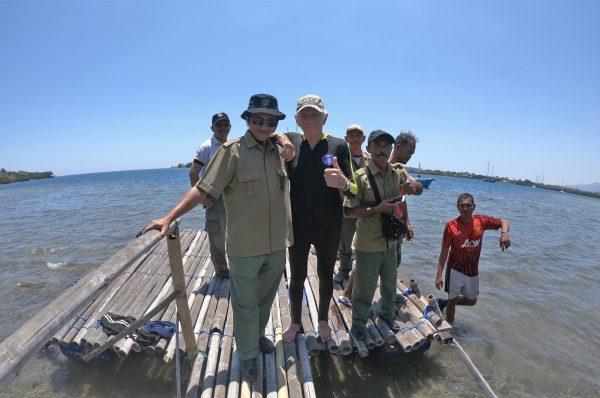 インドネシアの現場でサンクチュアリープロジェクト